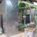 Geluidscabine steenfabriek