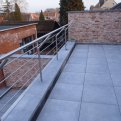 Inox balustrade appartement St. Job in't Goor