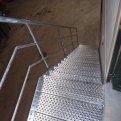 Gegalvaniseerde trap Merksplas